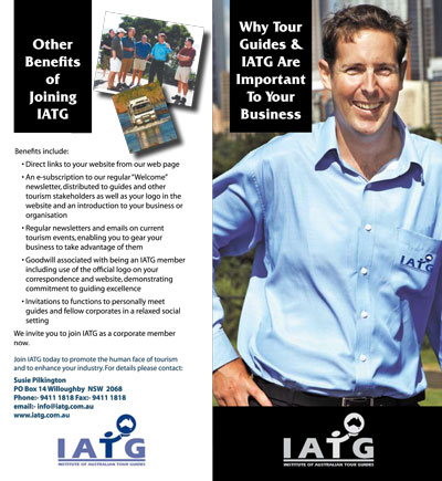 extract of iatg corporate membership brochure