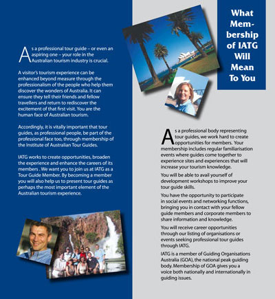 extract of iatg professional membership brochure