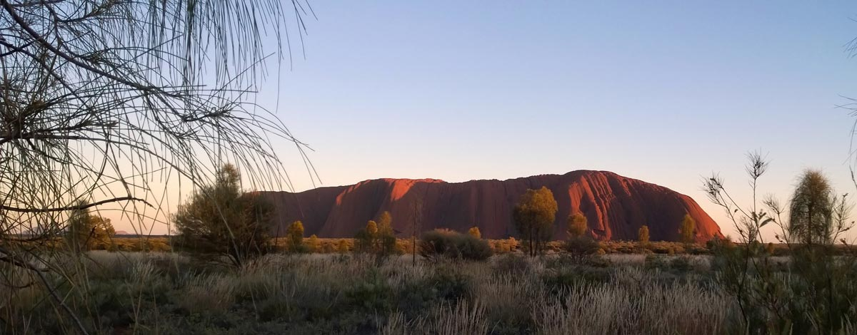 uluru in the heart of australia
